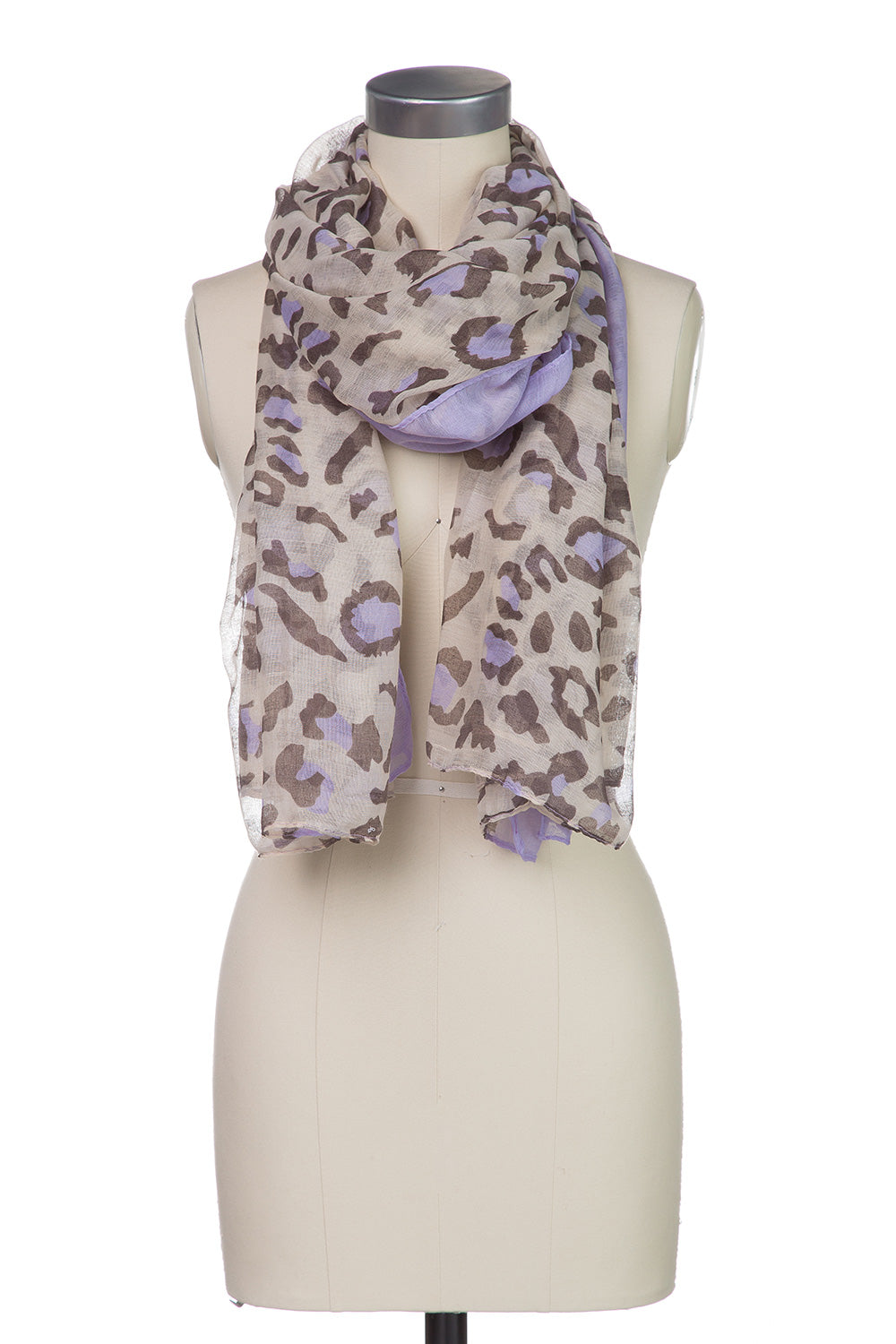 Type 2 Lounging Leopard Scarf