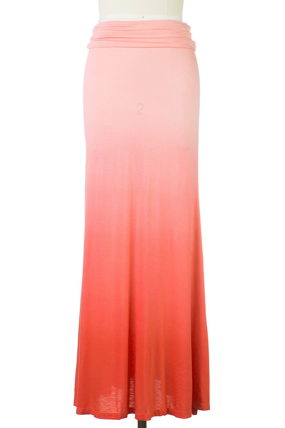 Type 3 Coral Ombre Maxi Skirt
