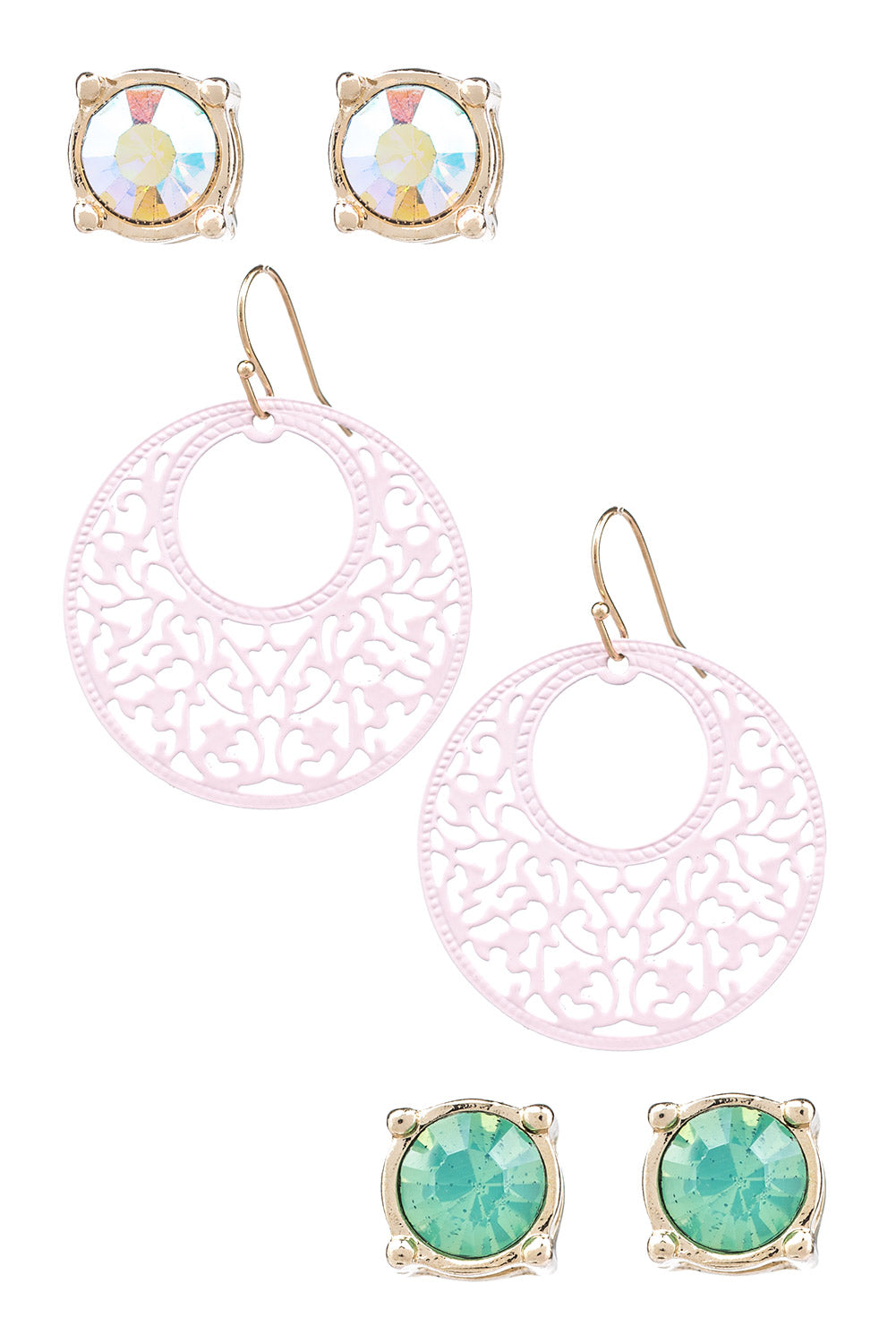 Type 1 Triple Treat Earring Set
