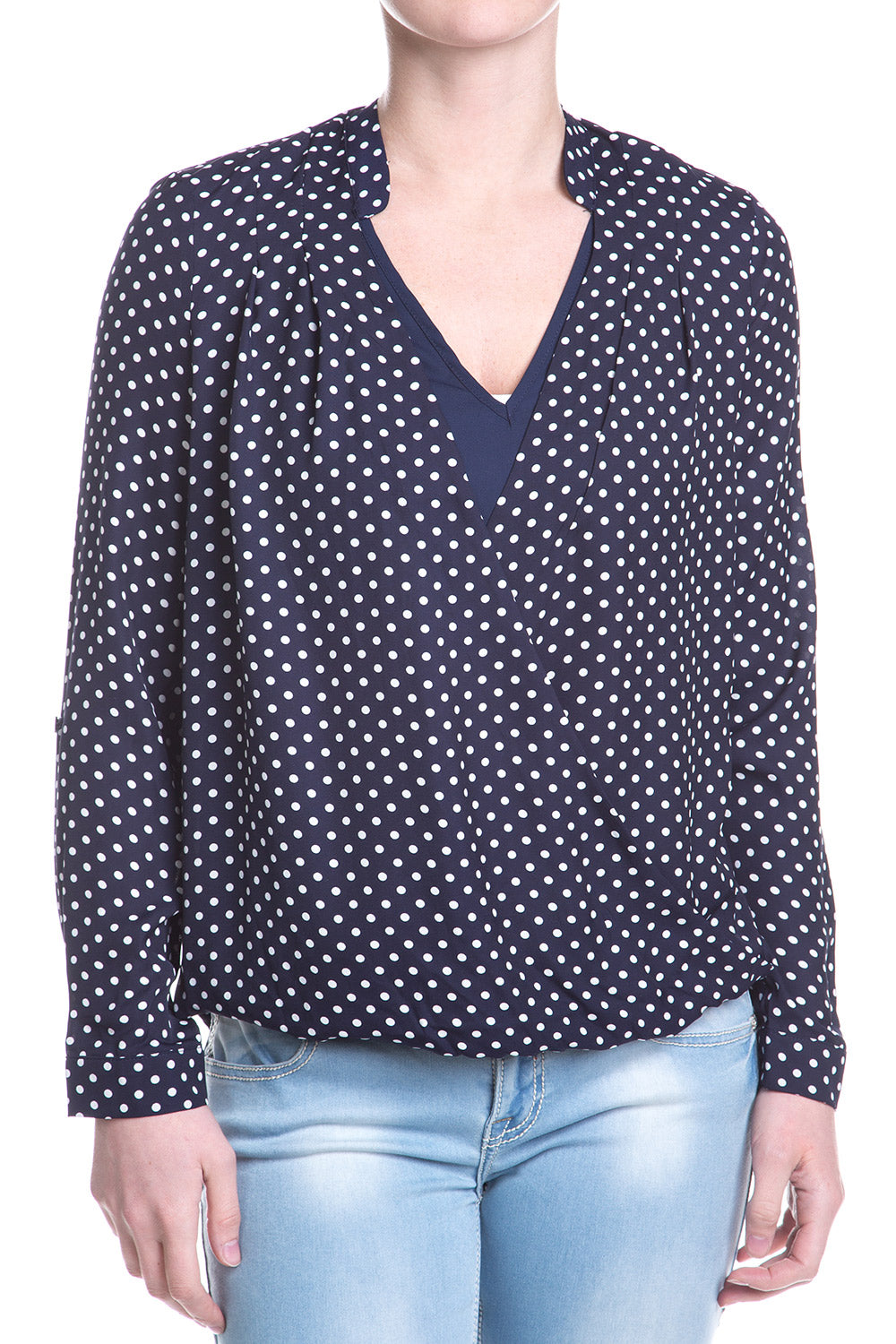 Type 1 Wrap Around Polka Top
