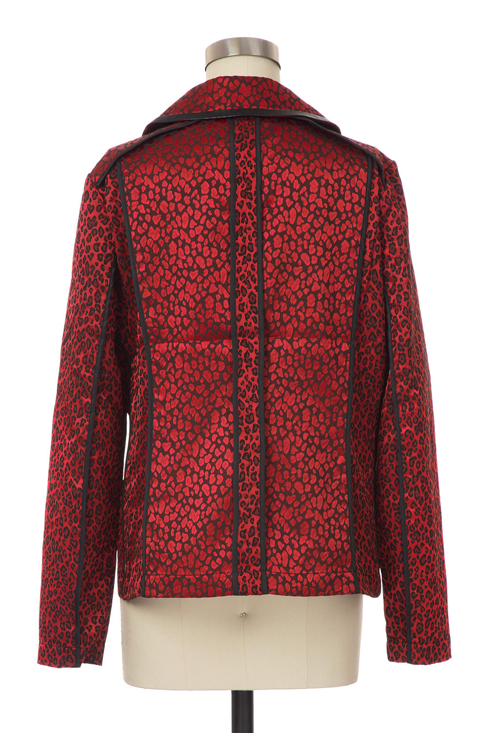 Type 4 Satin Leopard Jacket