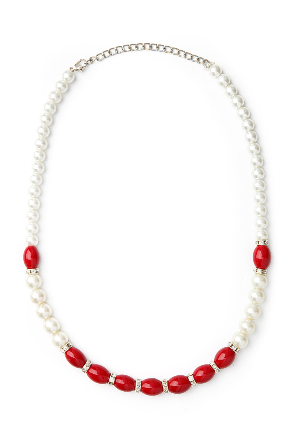 Type 4 Contempo Necklace in Red