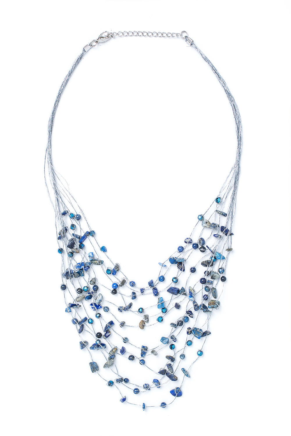 Type 2 Silken Strands Necklace
