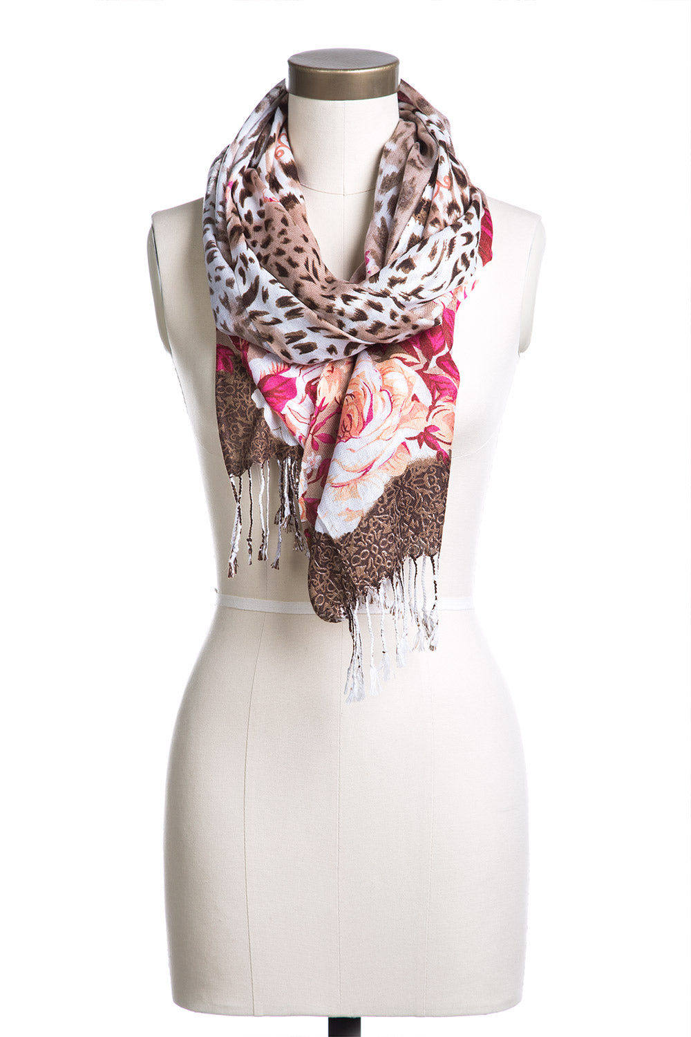 Type 3 Jungle Roses Scarf