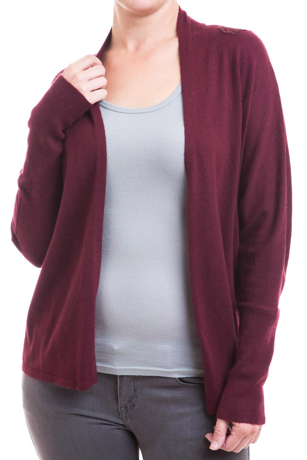Type 2 Burgundy Lace Cardigan