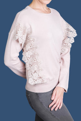 Type 2 All About That Lace Sweater