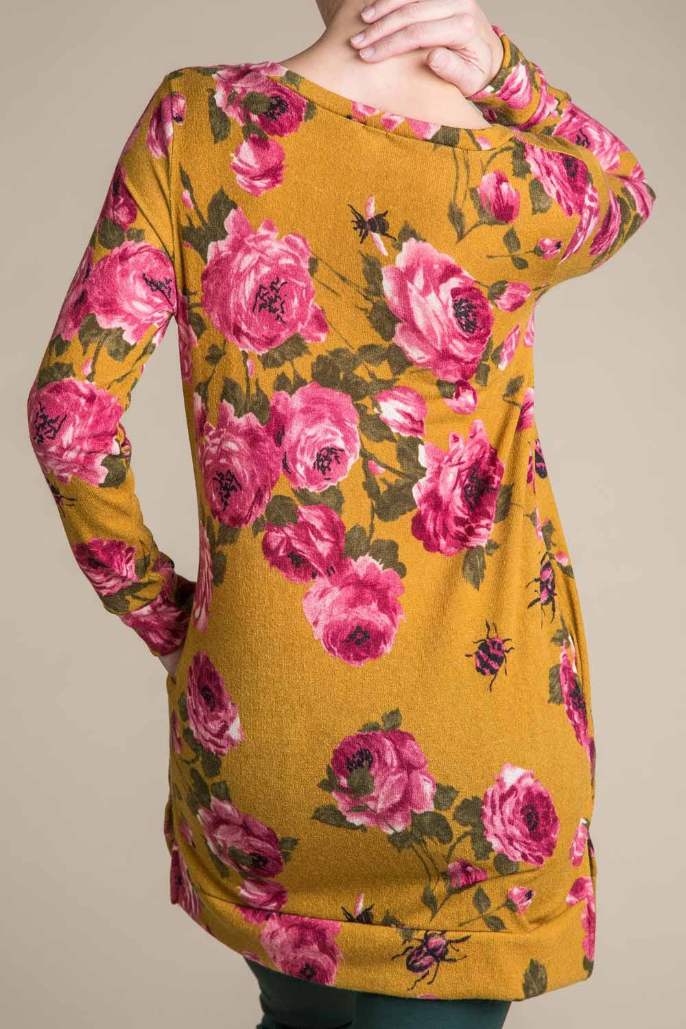 Type 3 Saffron Rose Top