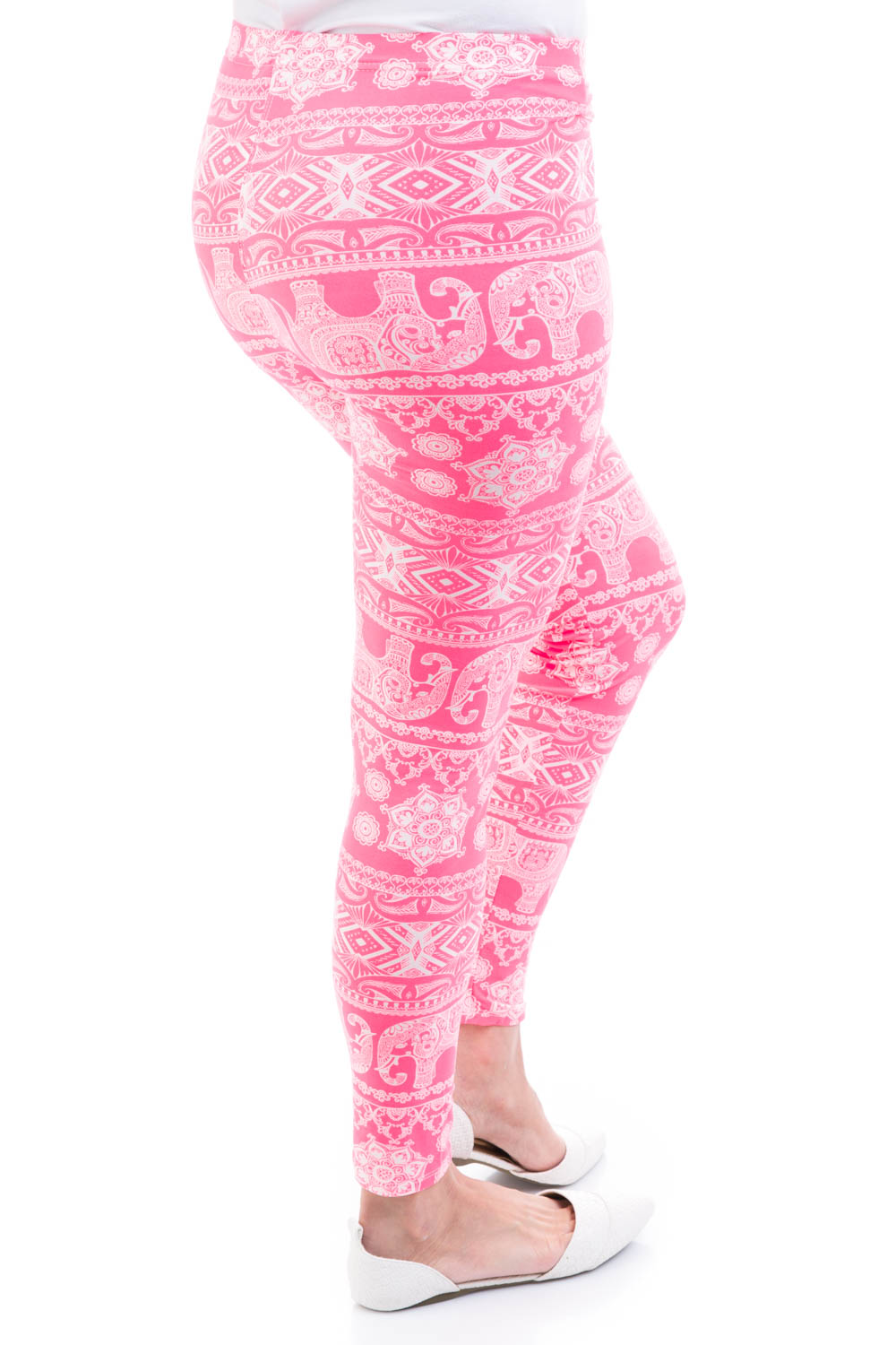 Type 1 Baby Elephant Walk Leggings In Pink