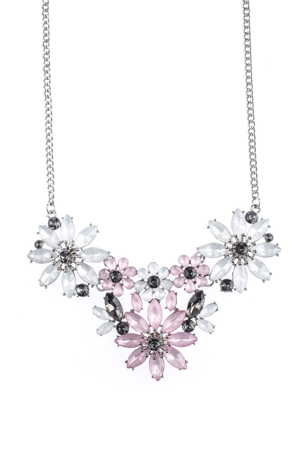 Type 2 Ice Blooms Necklace