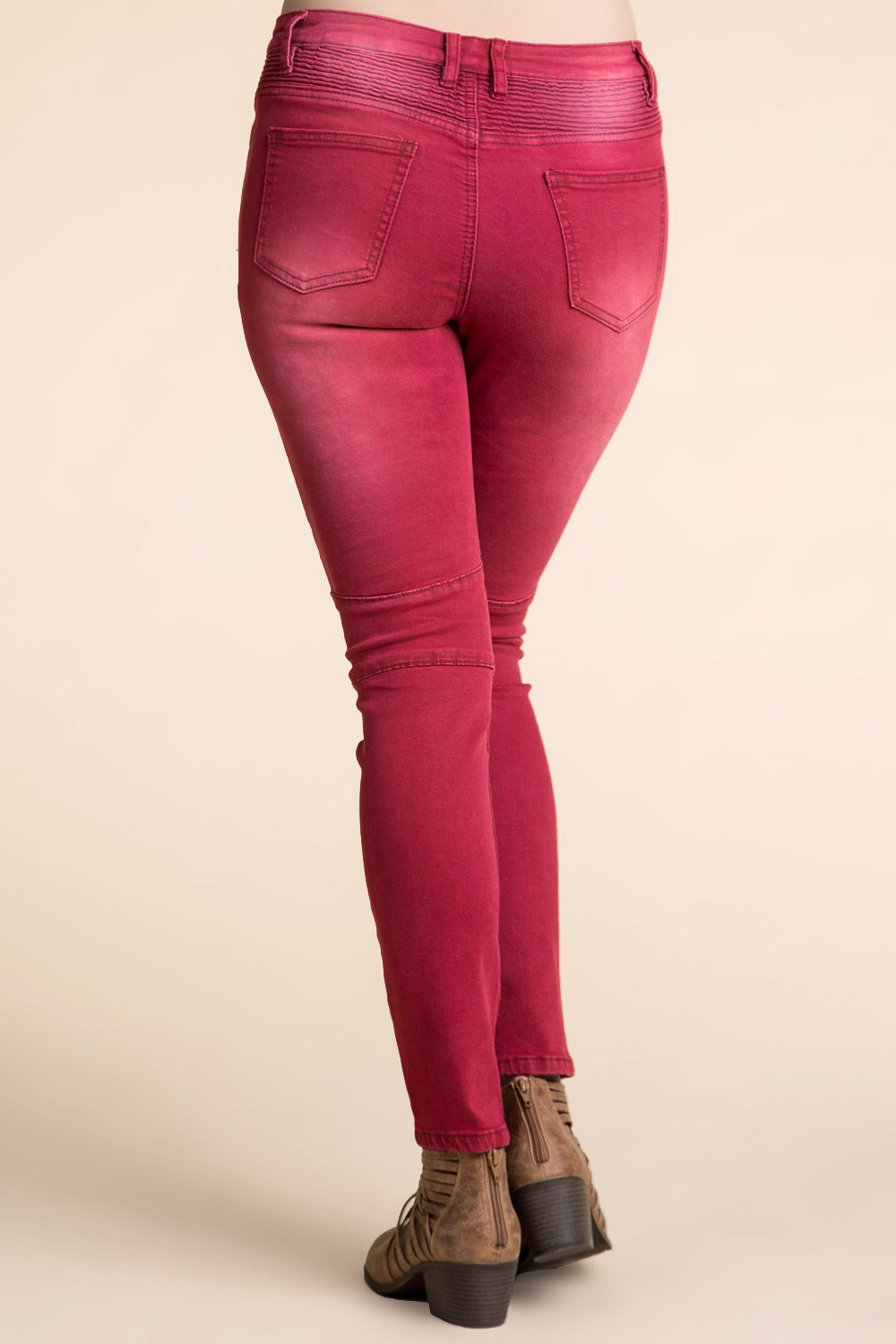 Type 3 Riders On The Storm Pants In Red wash
