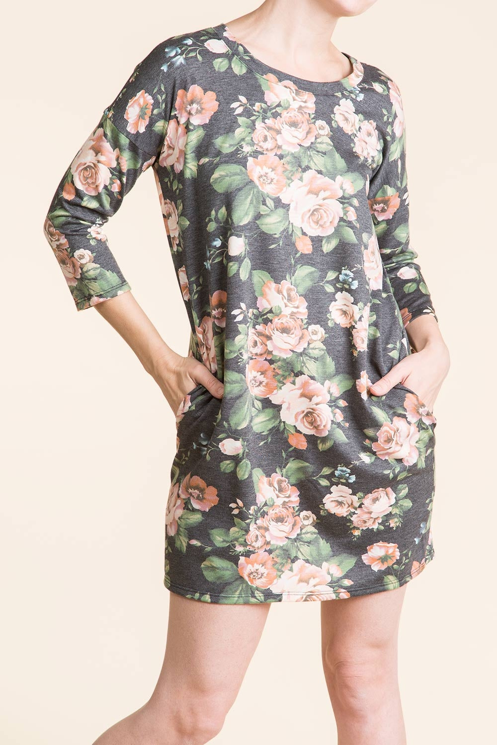 Type 2 Pondering Flowers Dress