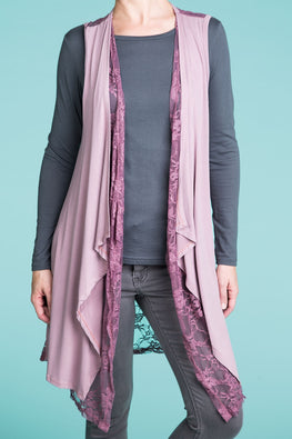 Type 2 Draped With Lace Vest