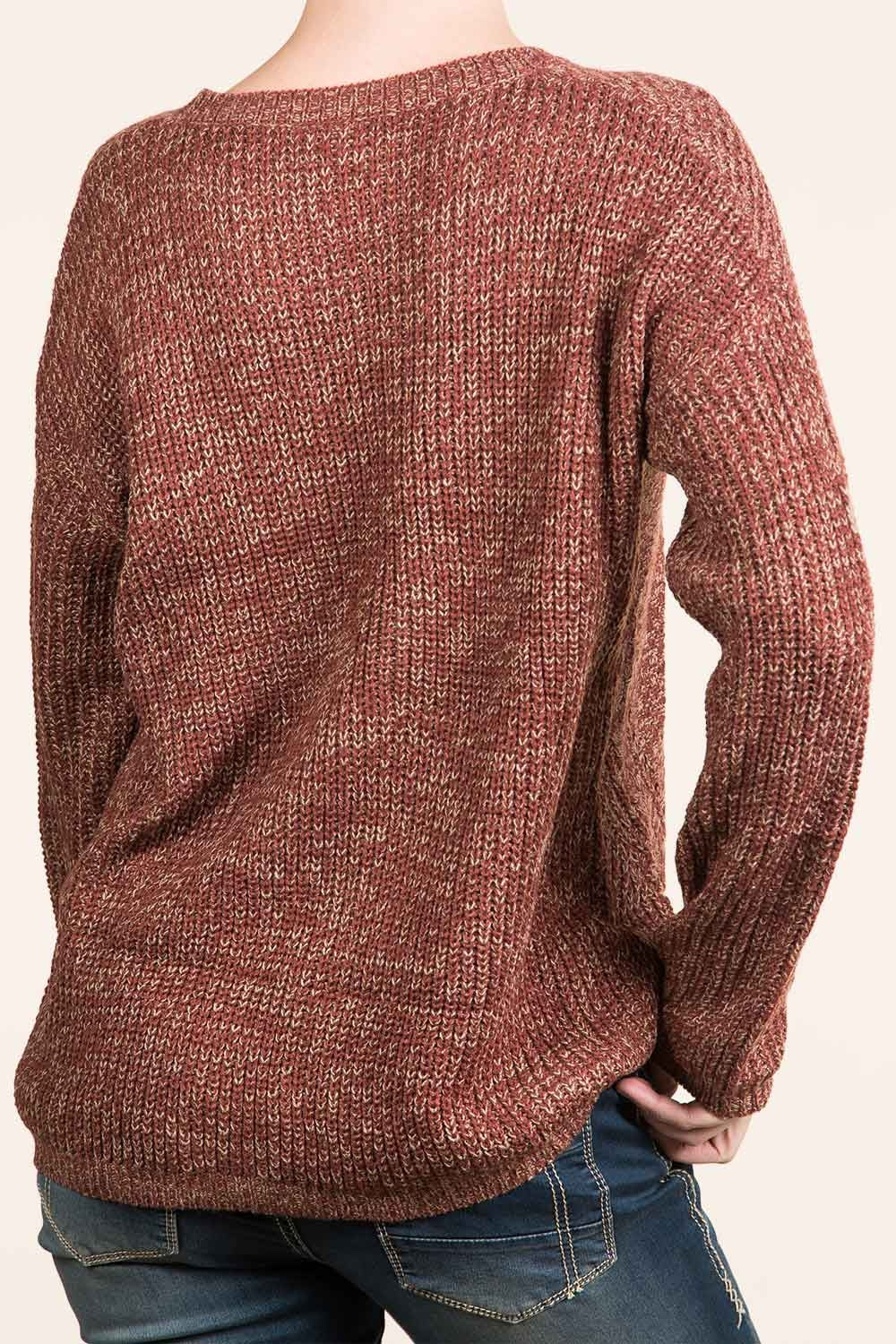 Type 3 Touch Of Nutmeg Sweater