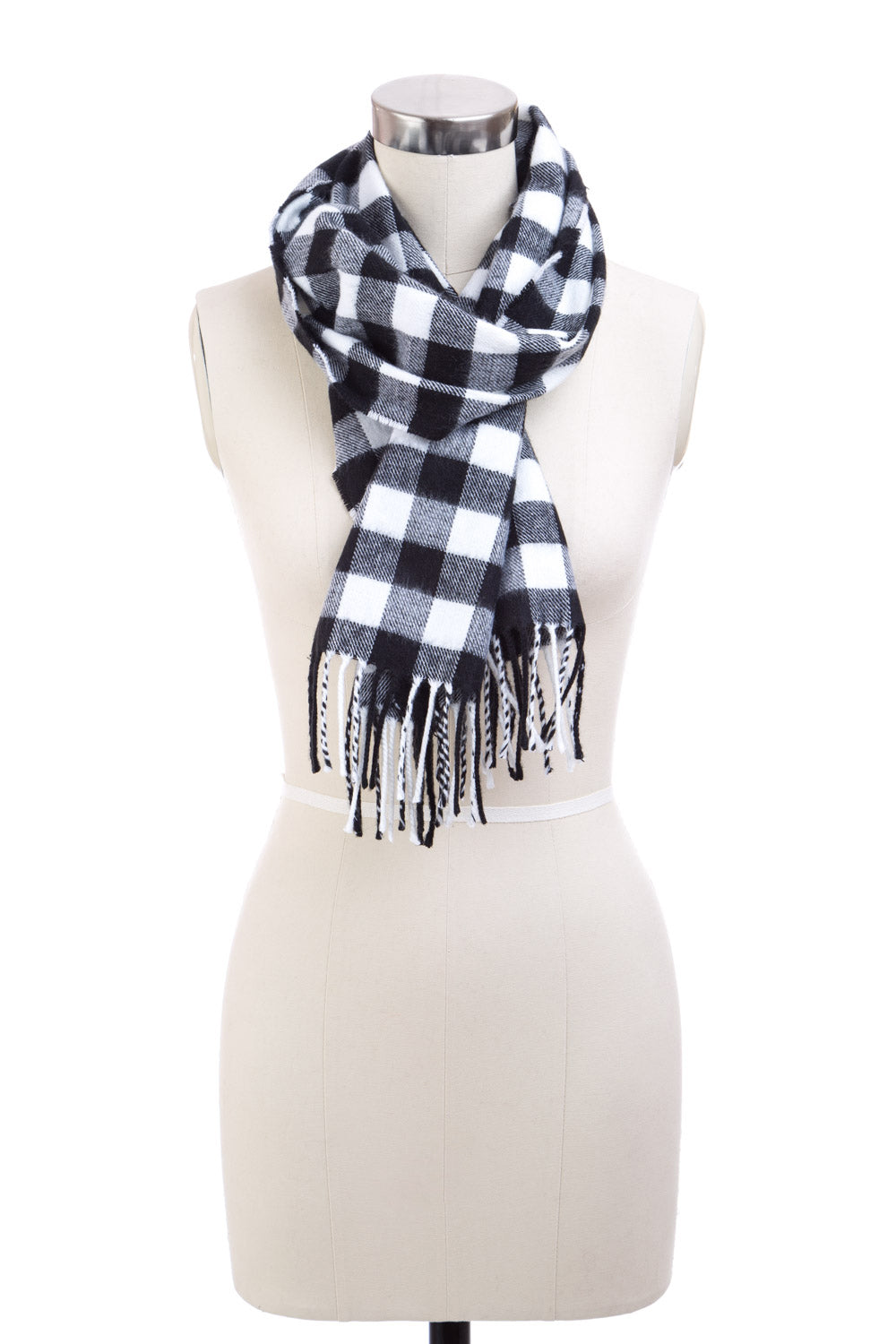 Type 4 Buffalo Check Scarf