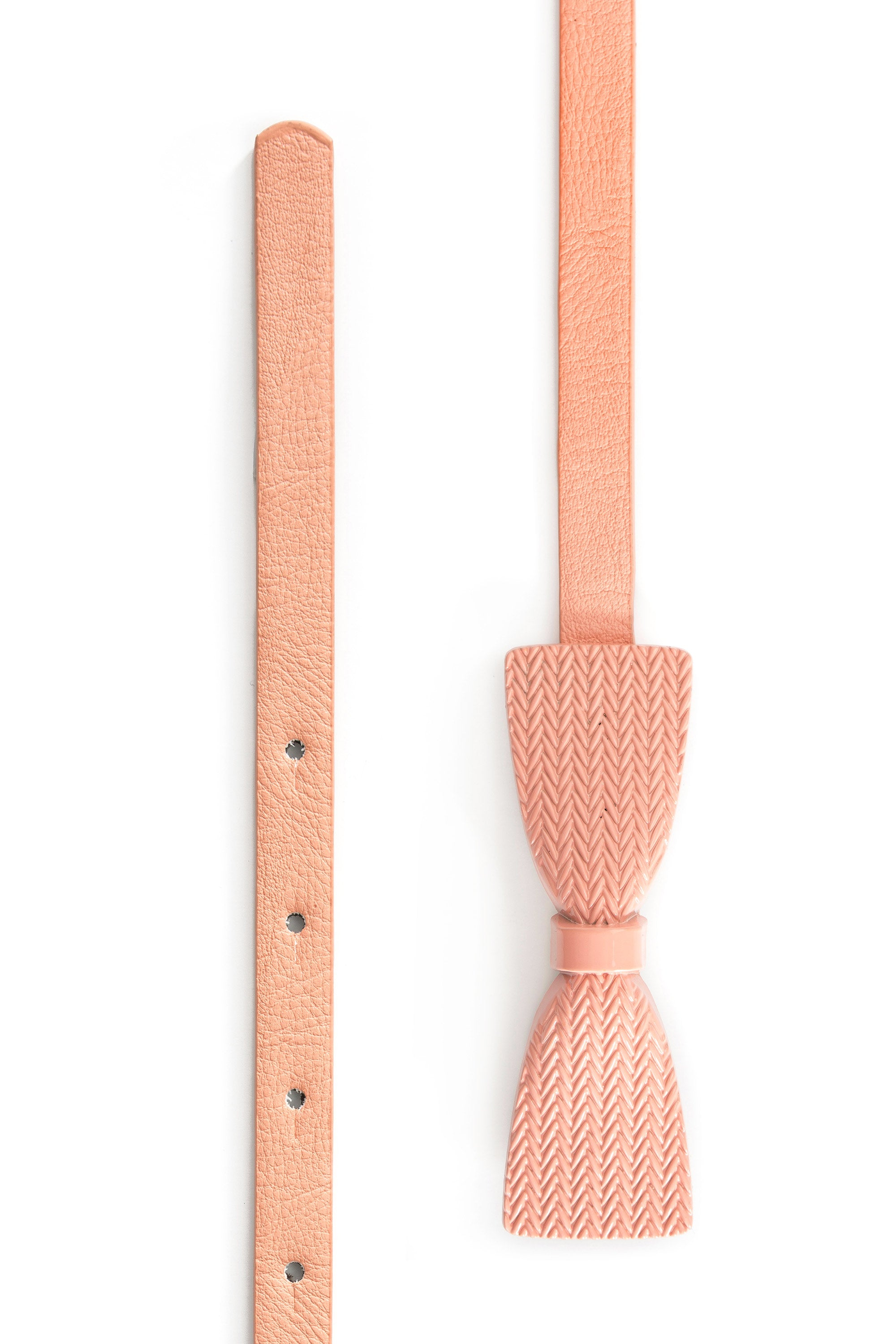 Type 2 Bow, Re, Mi Belt in Pink
