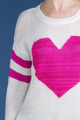 Type 1 Queen Of Hearts Sweater