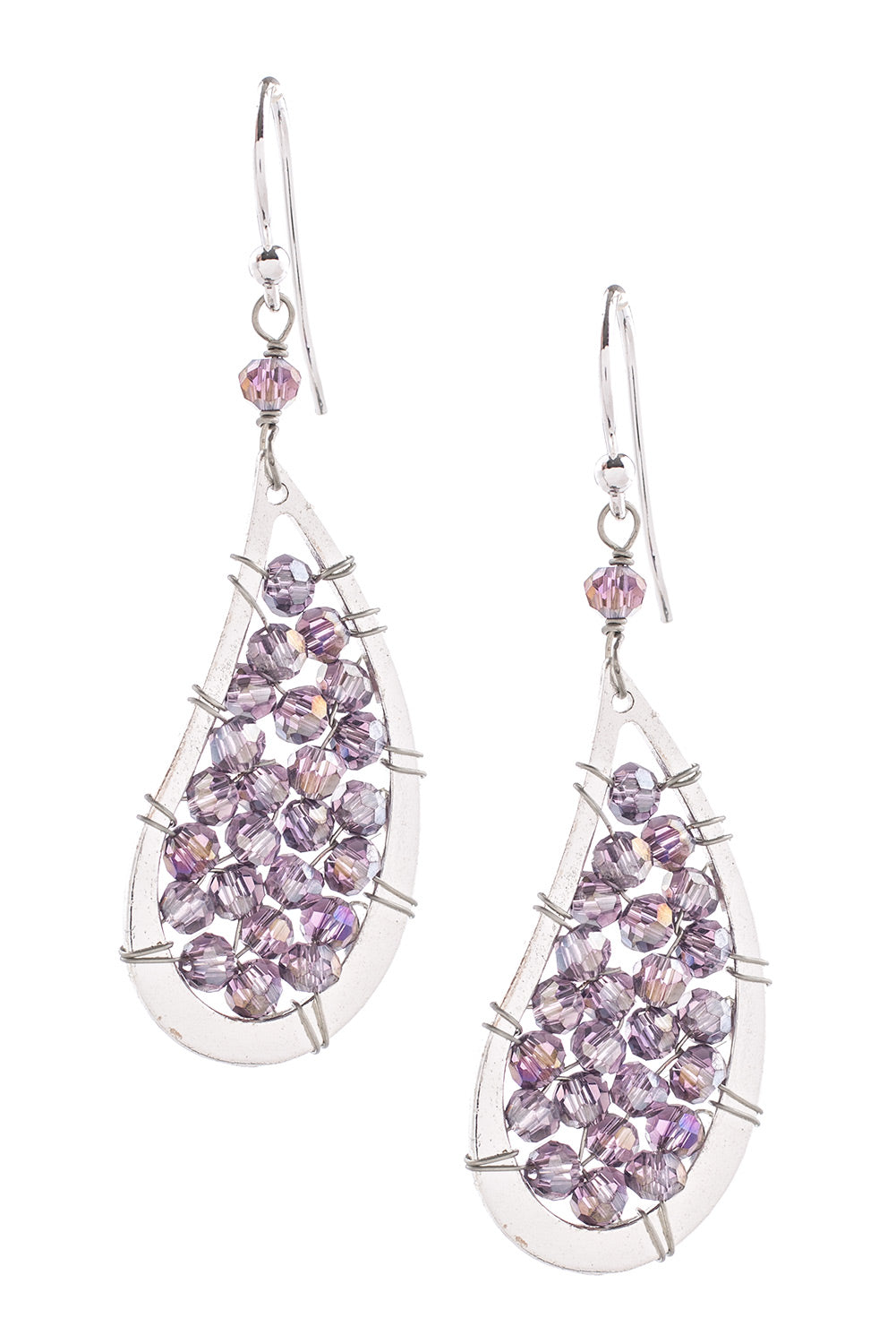 Type 2 Lilac Tears Earrings