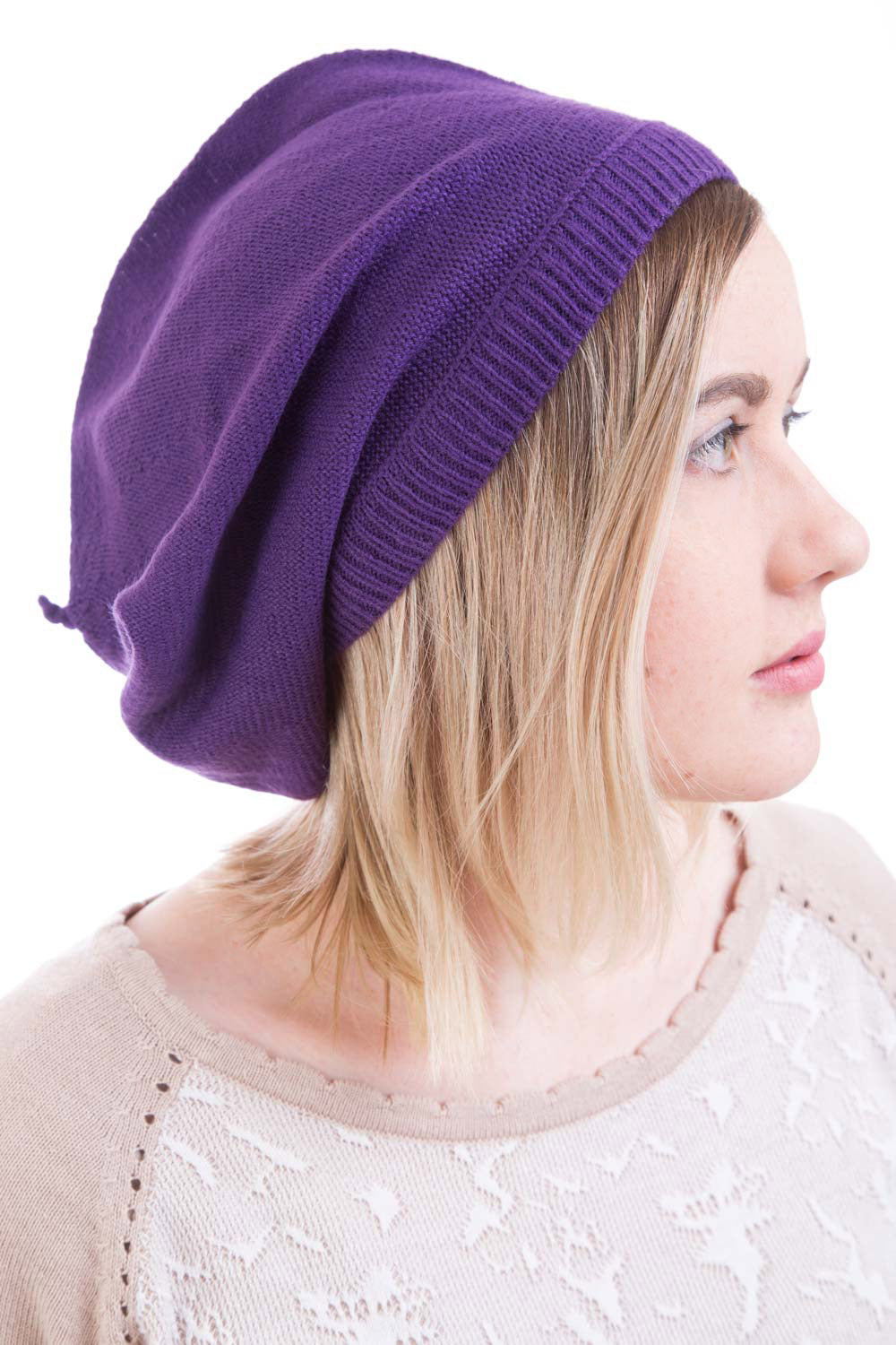 Type 2 Beautiful Beret in Purple