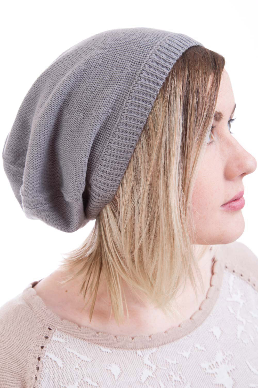 Type 2 Beautiful Beret in Gray