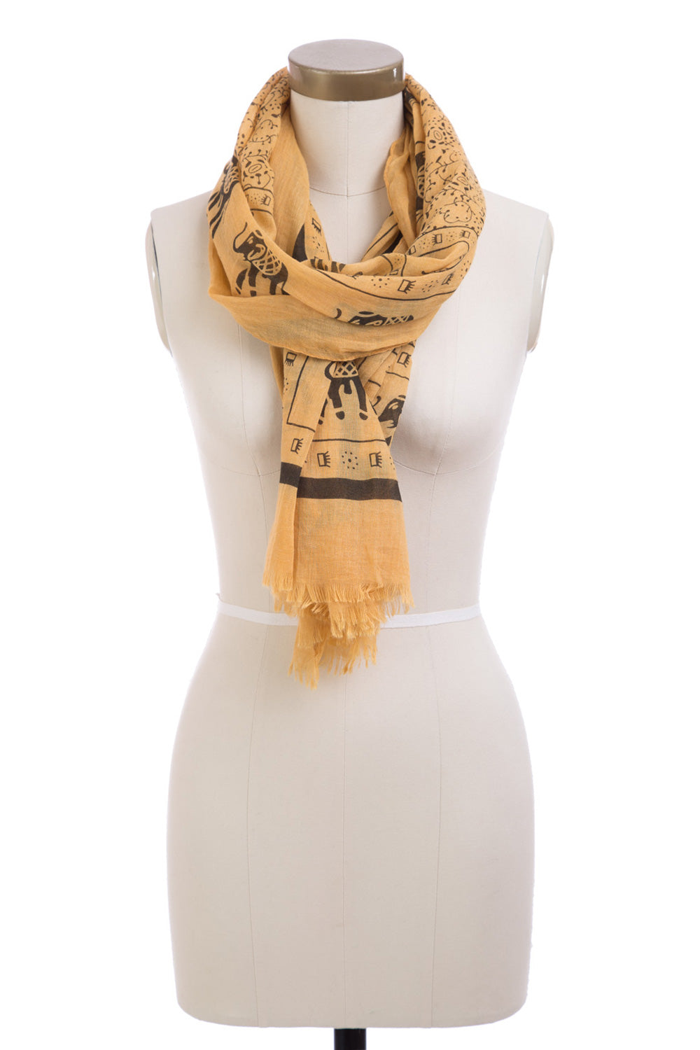 Type 3 Elephants on Parade Scarf