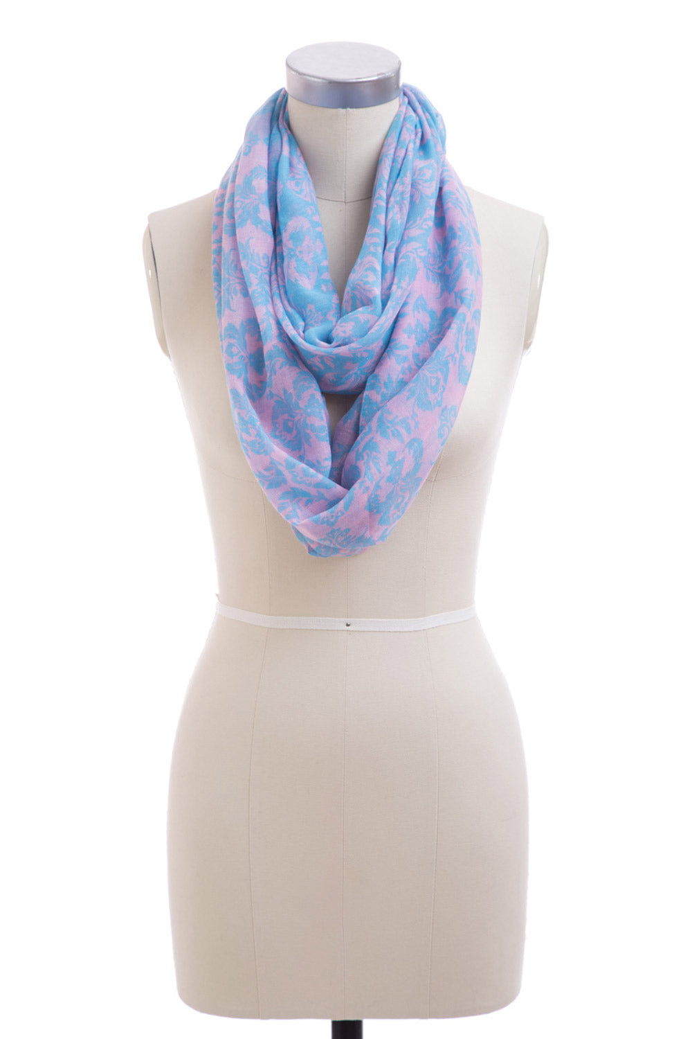 Type 2 Damask Darling Scarf In Pink