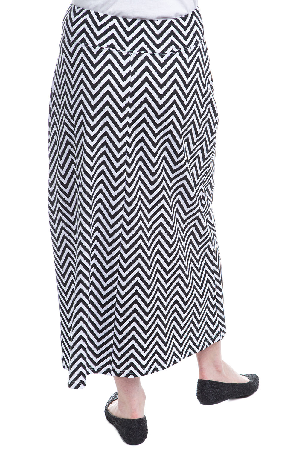 Type 4 Venus Skirt In Black And White