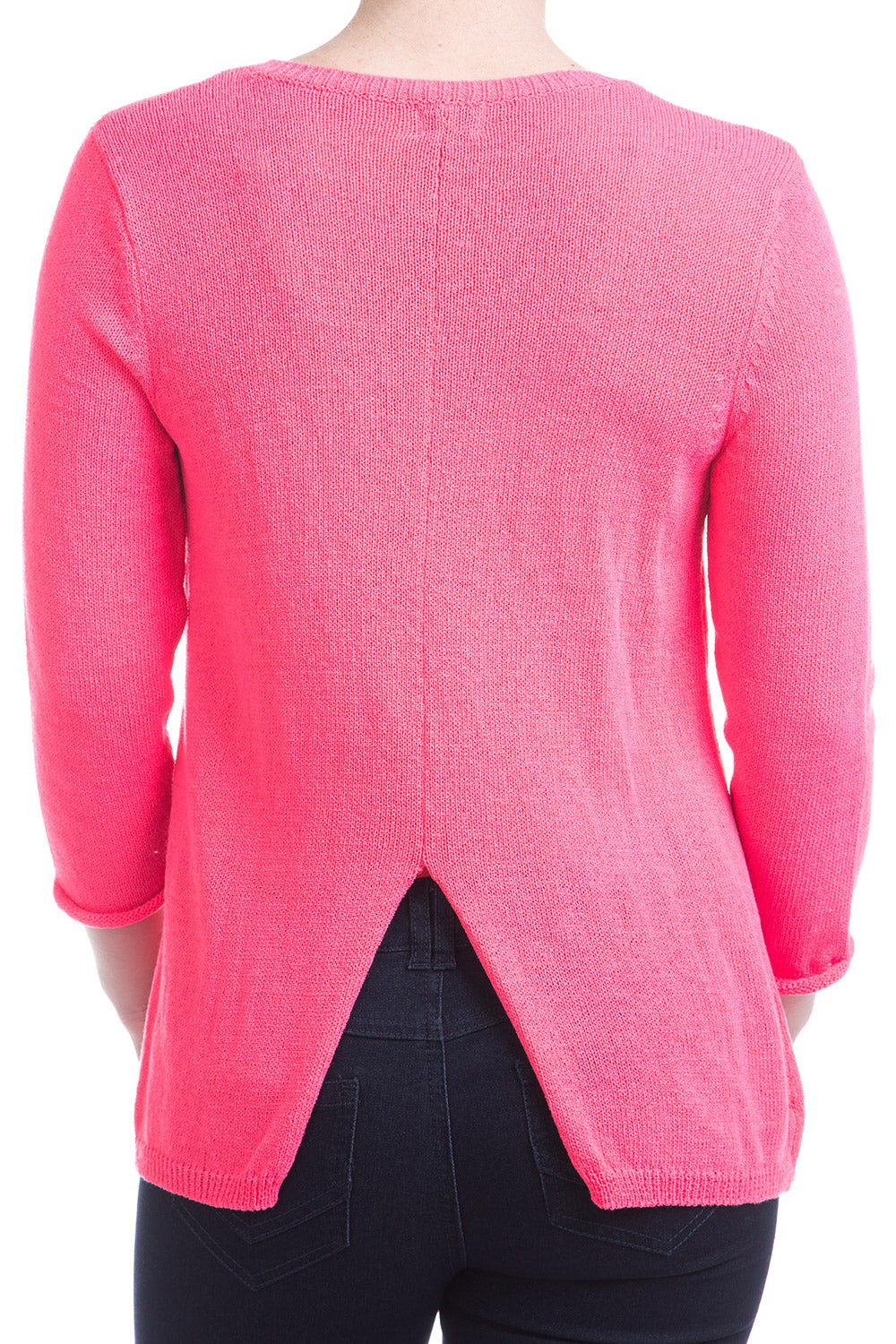 Type 4 Neon Lights Sweater In Pink