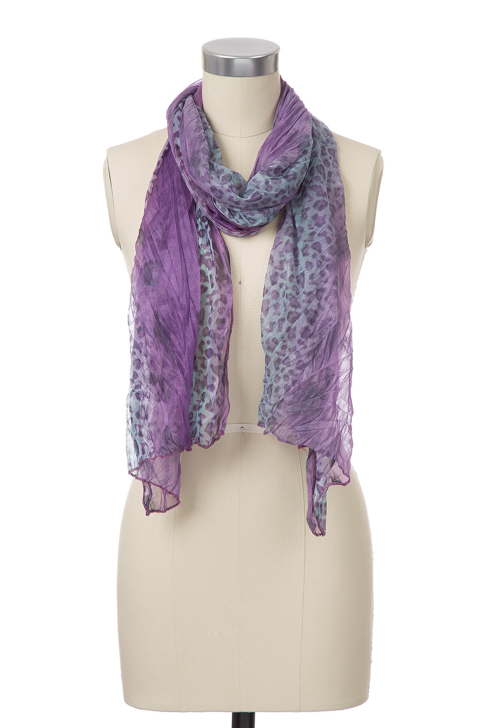 Type 2  Cheetah Ombre Scarf
