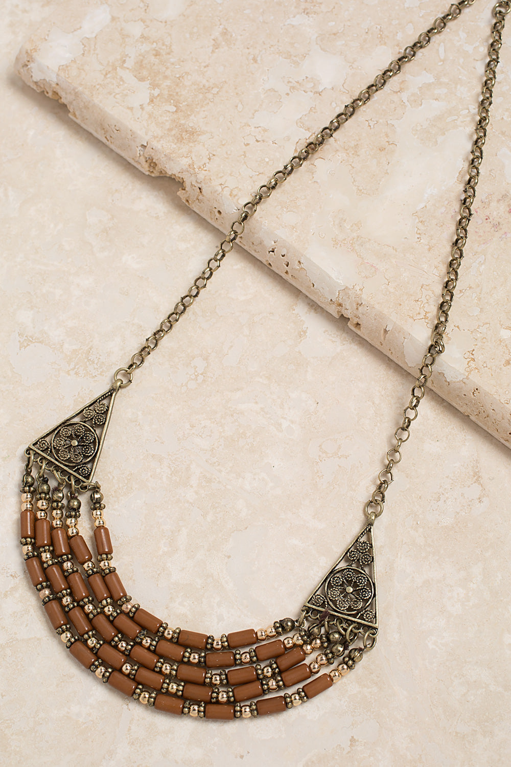 Type 3 Edgy Detail Necklace