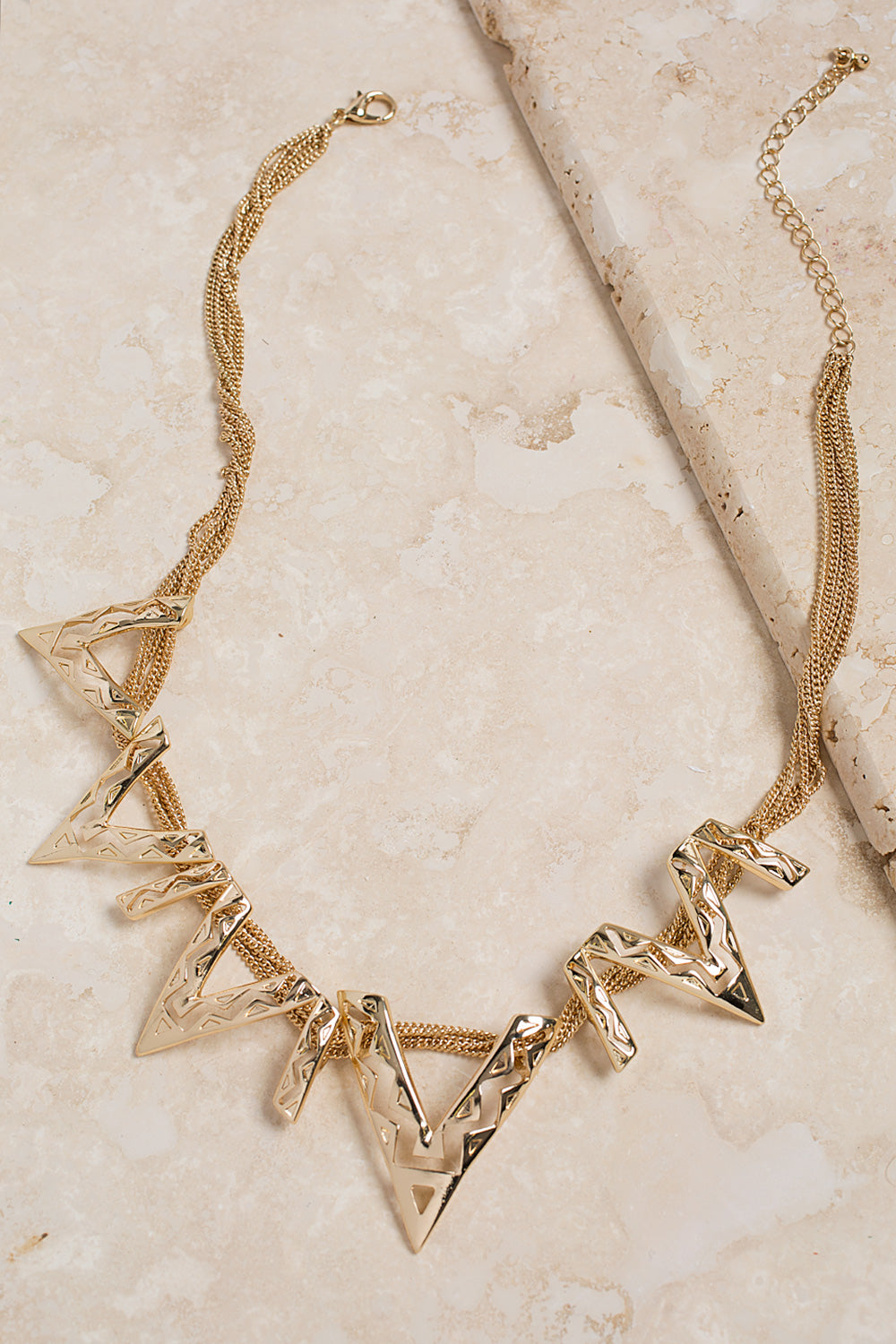 Type 3 Jagged Z Necklace