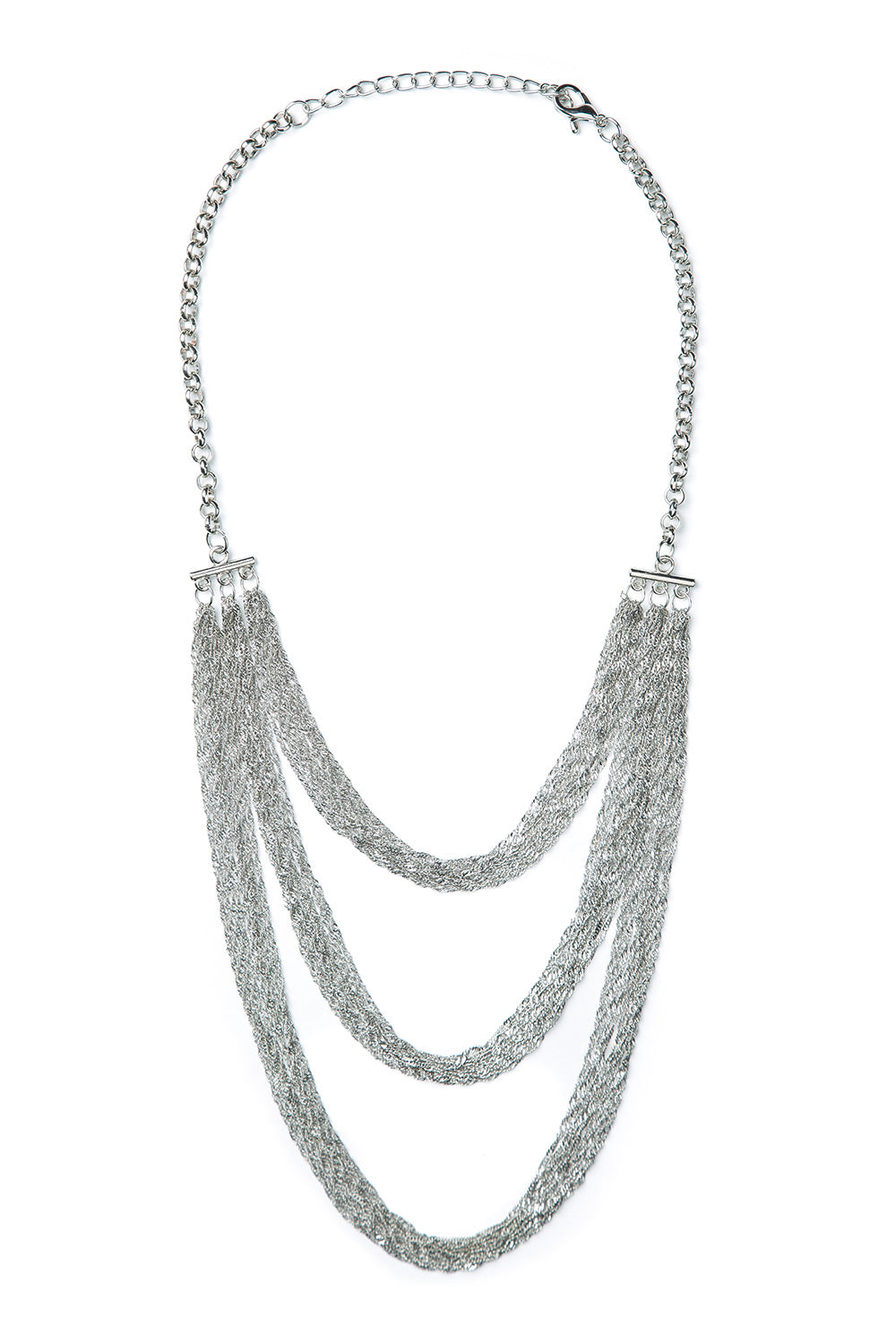 Type 2 Silky Silver Necklace