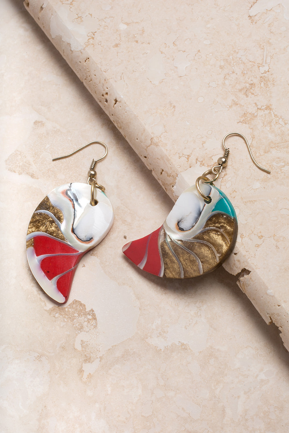Type 3 Washed Ashore Earrings