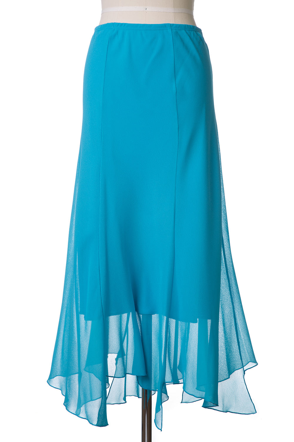 Type 2 The Short and Long of It Skirt in Turquoise