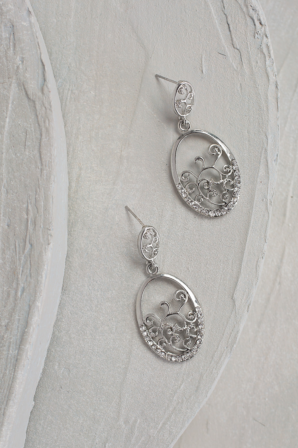 Type 2 Dressed Up Swirl Earrings