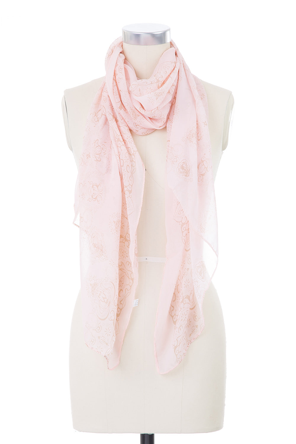 Type 2 Faded Damask Scarf