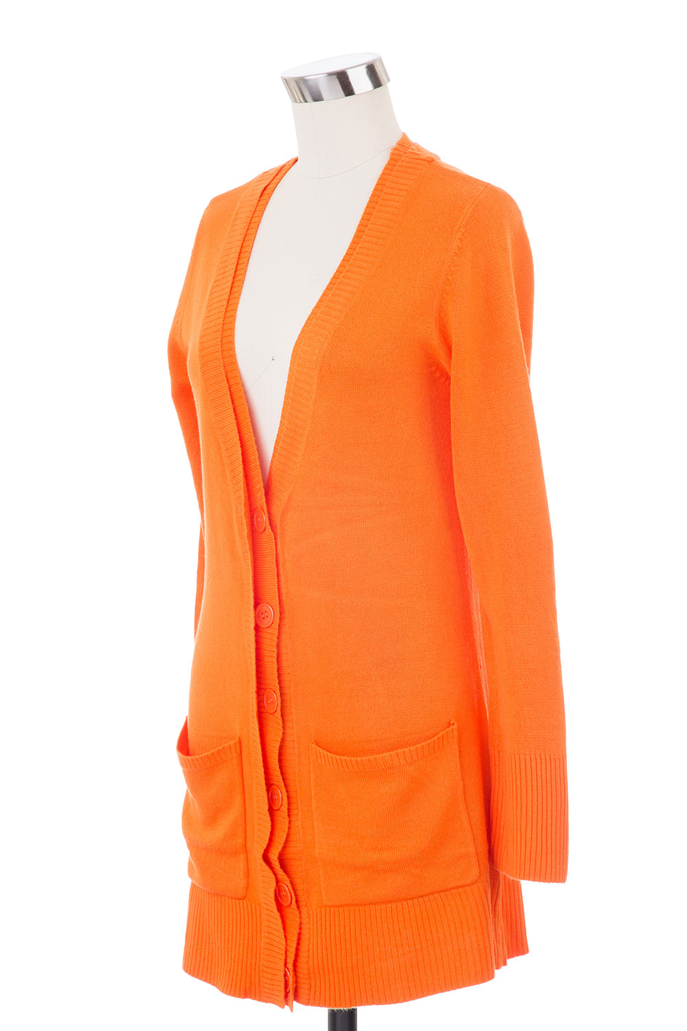 Type 4 Boyfriend Cardigan in Orange
