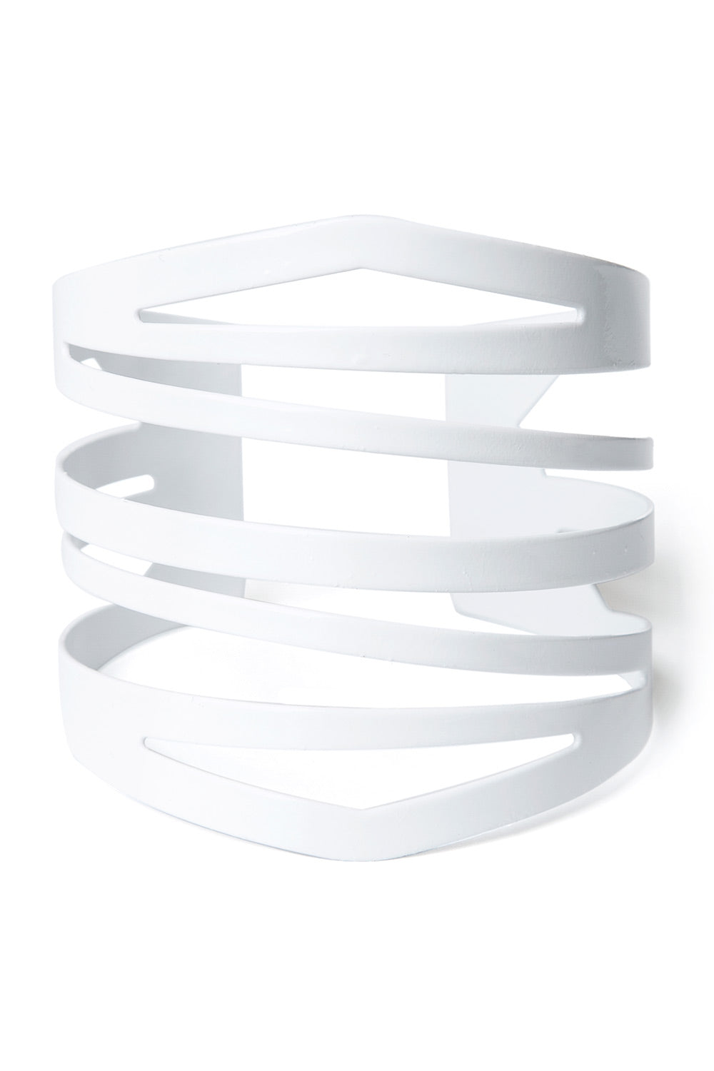 Type 4 Contemporary Cuff in White