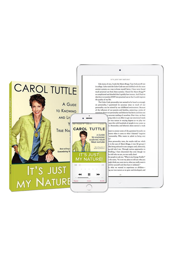 It's Just My Nature! - softcover, audio & pdf