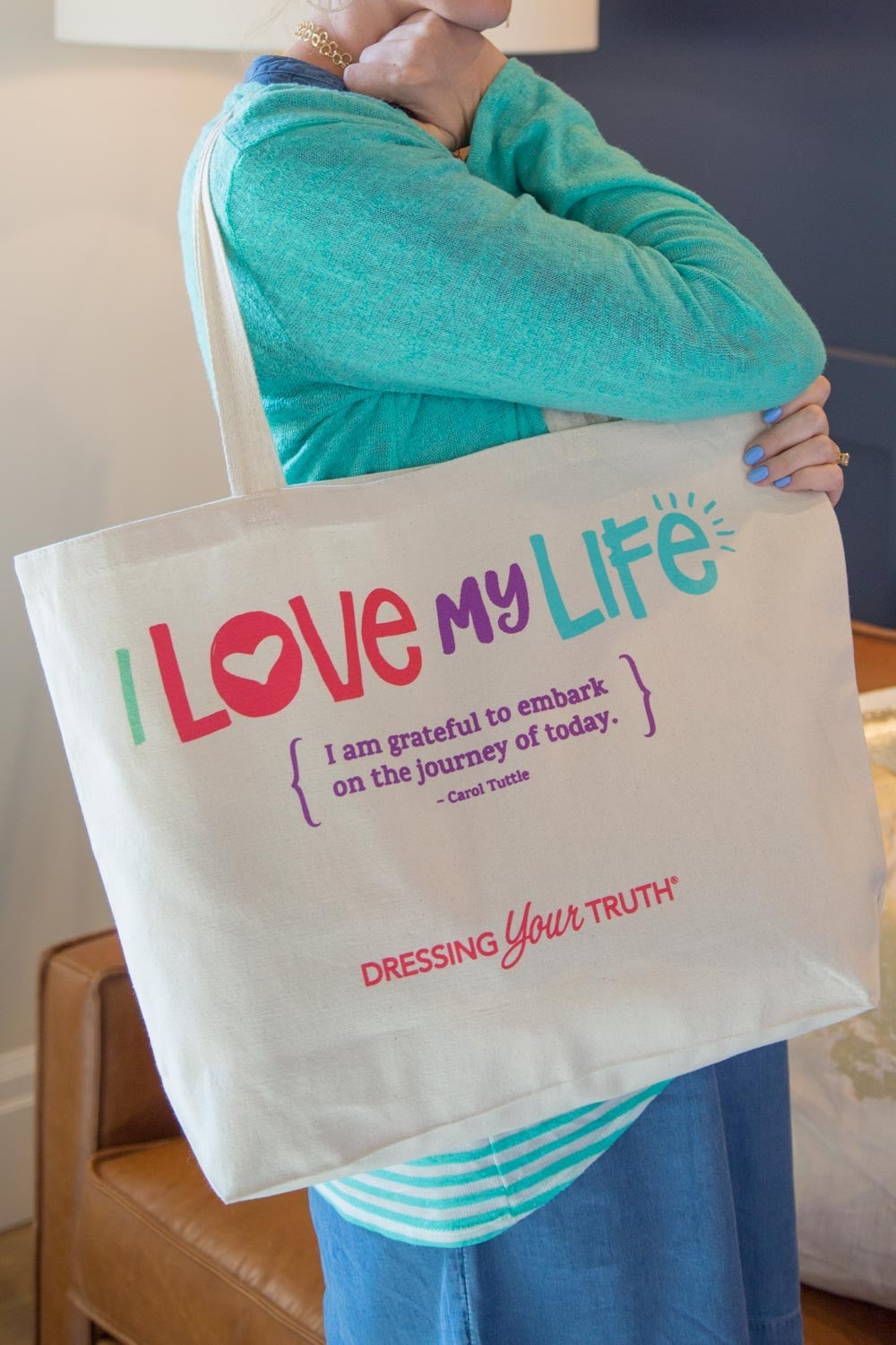 I Love My Life Bag