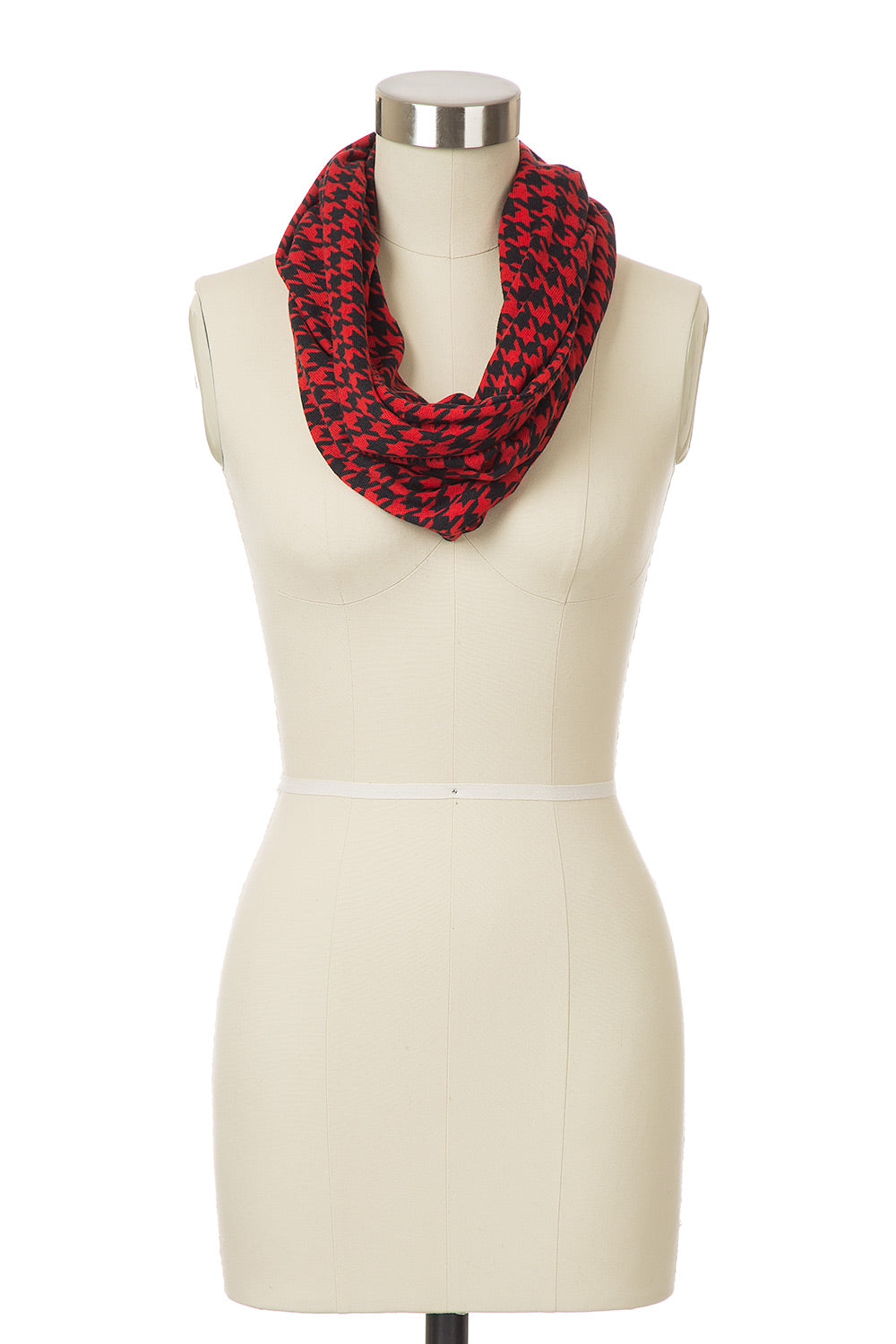 Type 4 Haute Houndstooth Infinity Scarf