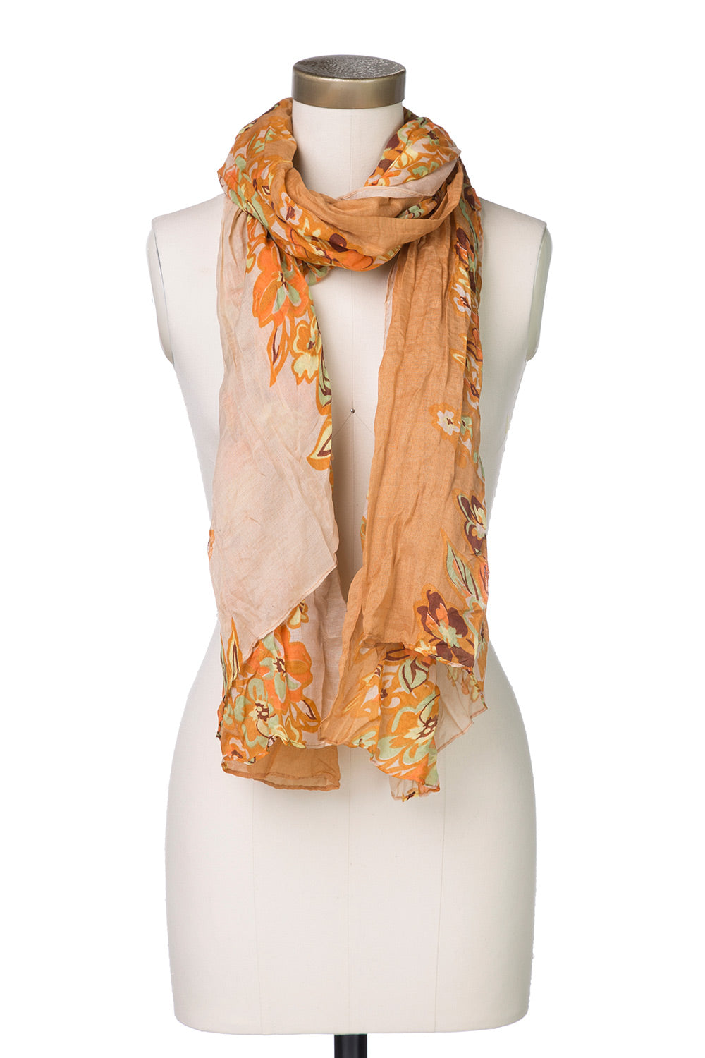 Type 3 Fierce Flowers Scarf