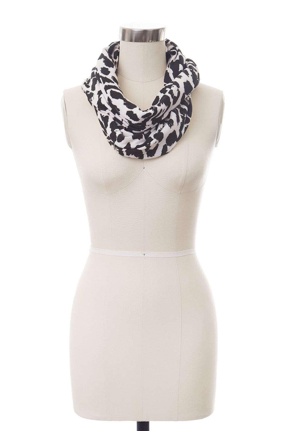 Type 4 Abstract Zebra Scarf