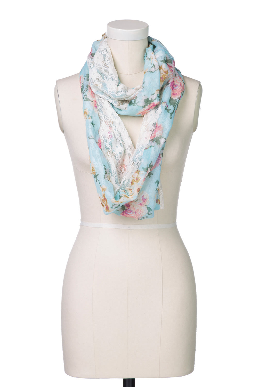 Type 2 To A Wild Rose Infinity Scarf