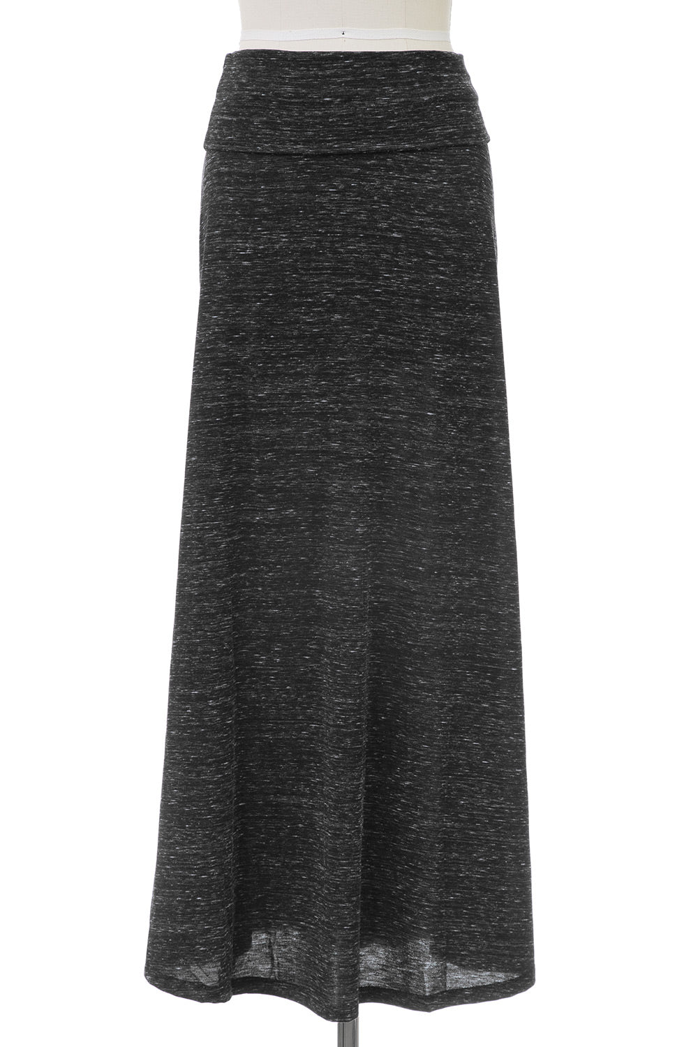Type 2 Charcoal Heath Maxi Skirt