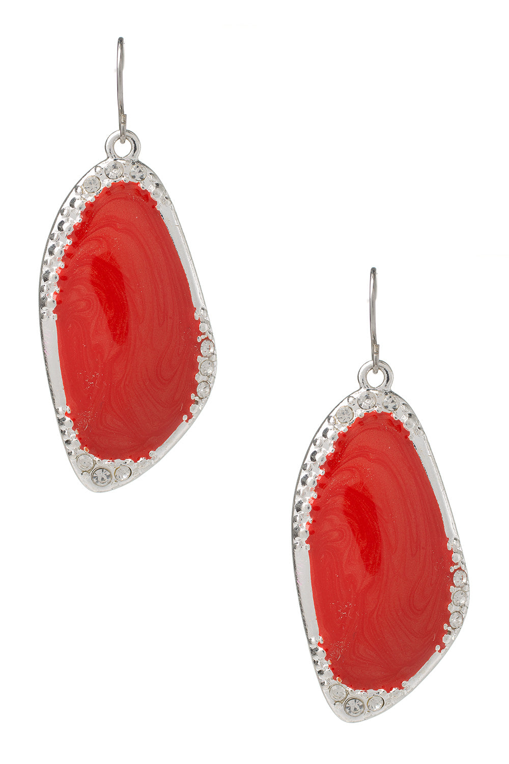 Type 4 Ruby Center Earrings