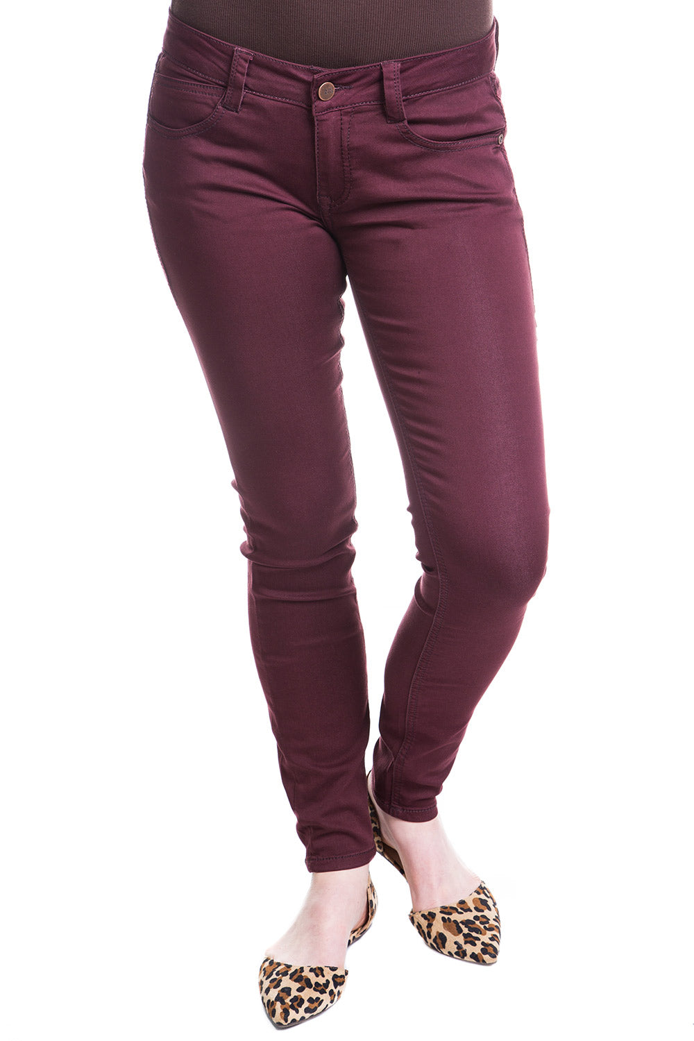 Type 3 Favorite Pants In Burnt Red