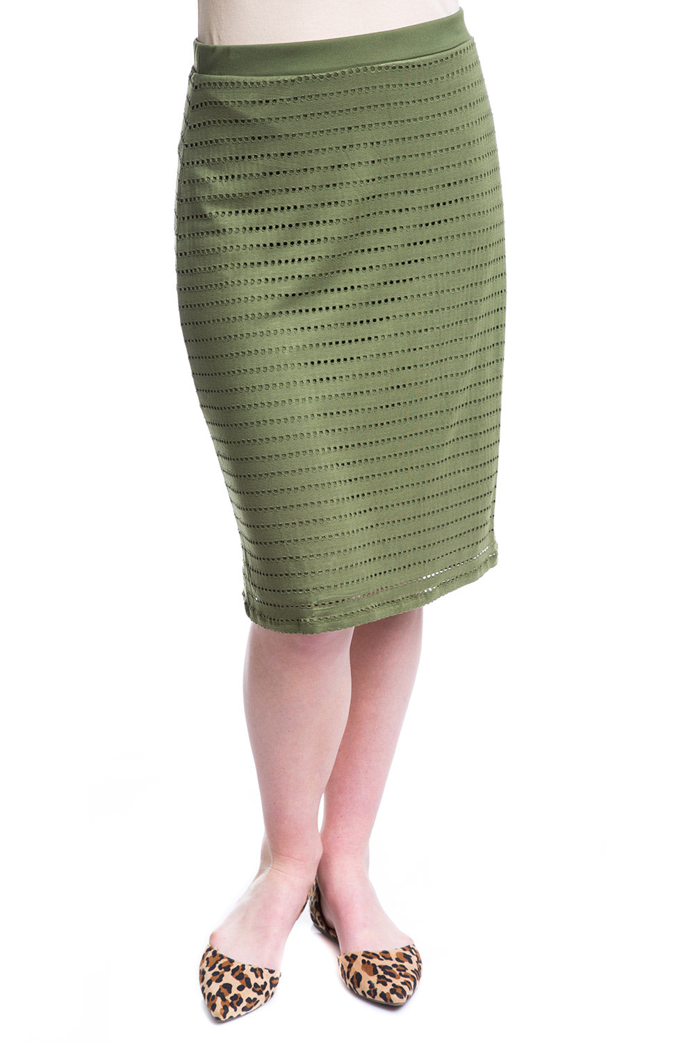 Type 3 Run DMC Skirt In Olive