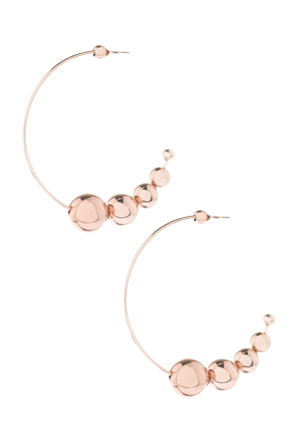 Type 1 Rose Gold Bubbles Earrings