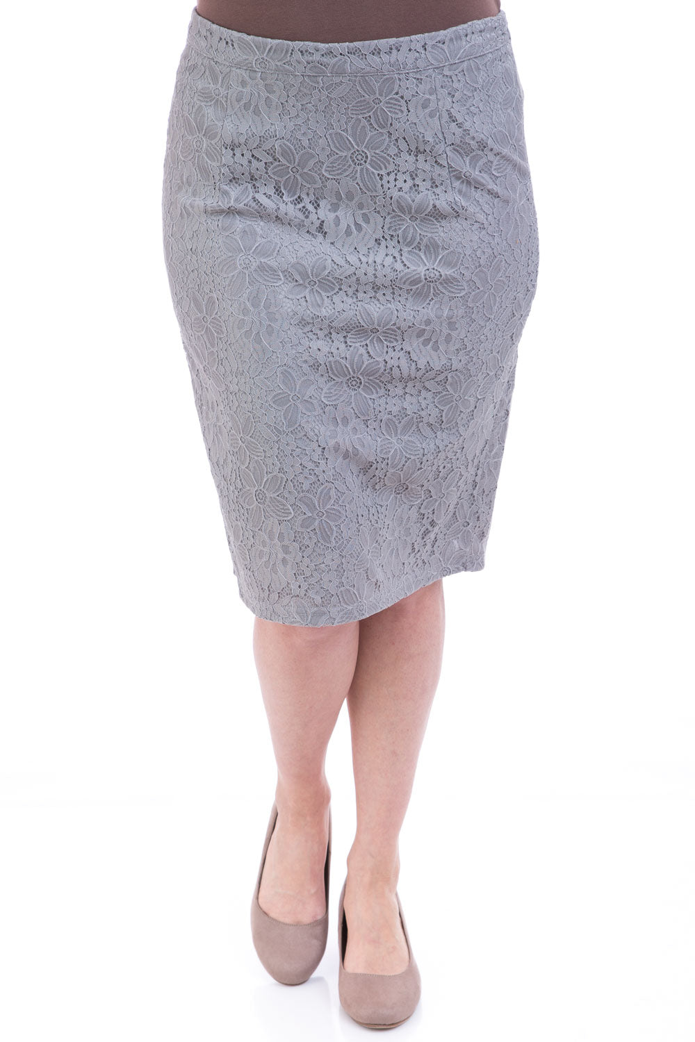 Type 2 Graceful Lace Pencil Skirt