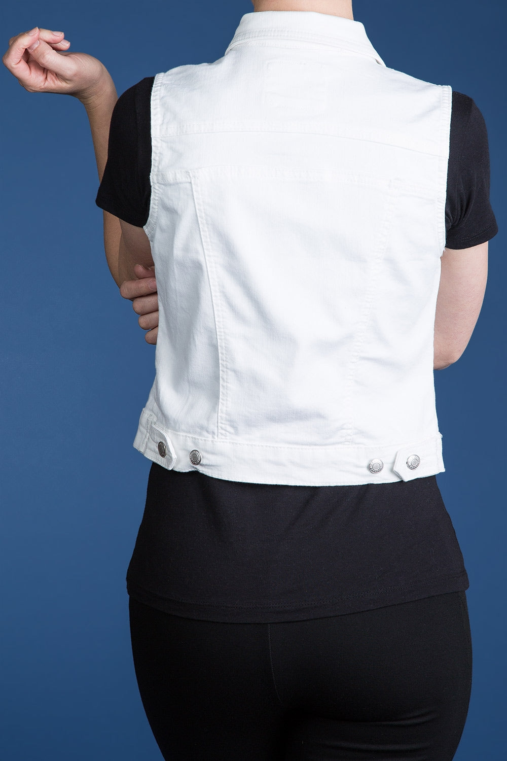 Type 4 Invested Interest Vest in White